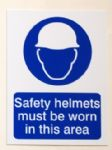 Safety Helmets must be Worn